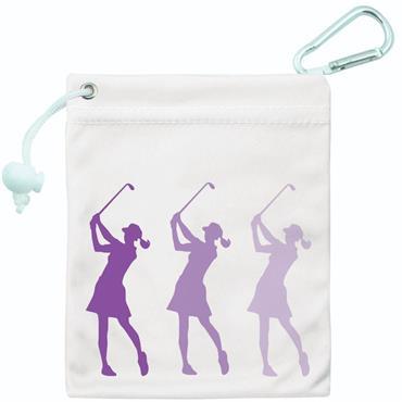 Surprizeshop Ladies Tee & Accessory Bag  Purple