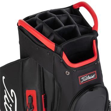 Titleist Cart 15 StaDry 0S Black/Red