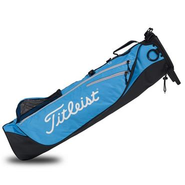Titleist Premium Carry Bag 0S Black Blue Silver