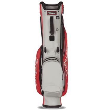 Titleist Players 4 StaDry Stand Bag 0S Red Grey Black