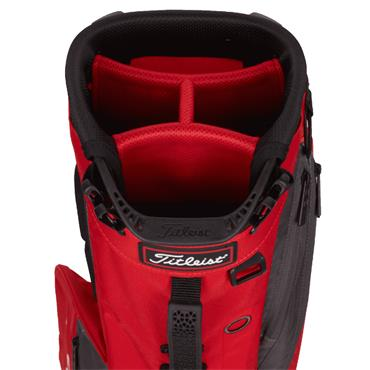 Titleist Players 4 Stand Bag 0S Red Graphite