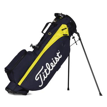Titleist Players 4 Stand Bag 0S Navy Citron