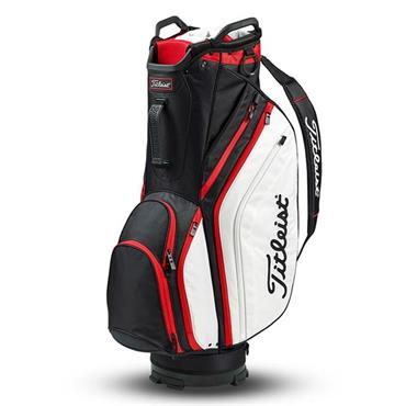 Titleist Lightweight Cart Bag Black - White - Red