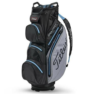 Titleist StaDry Cart Bag Black - Sleet