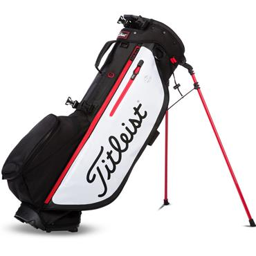 Titleist Players 4 Plus Stand Bag  Black/White/Red