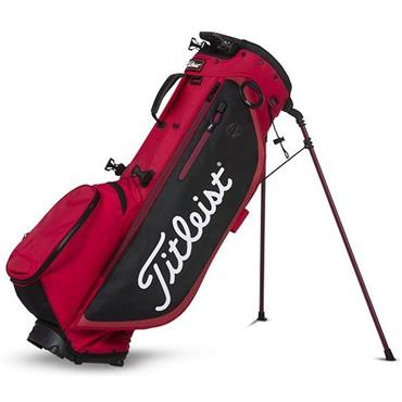Titleist Players 4 Plus Stand Bag  Red/Black/White