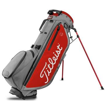 Titleist Players 4 Plus Stand Bag 0S Grey Red Black