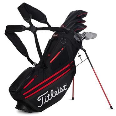 Titleist Hybrid 14 Stand Bag 0S BLACK BLACK RED