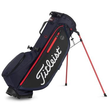 Titleist Players 4 Plus Stand Bag  Navy/Black/Red