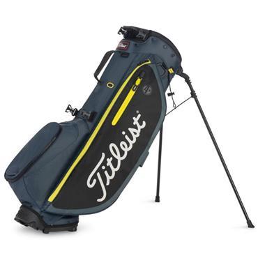 Titleist Players 4 Plus Stand Bag  Charcoal Black Volt