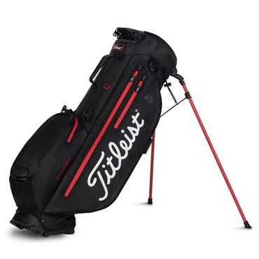 Titleist Players 4 Plus StaDry Stand Bag 0S BLACK BLACK RED