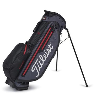 Titleist Players 4 Plus StaDry Stand Bag 0S Black/Charcoal/Red