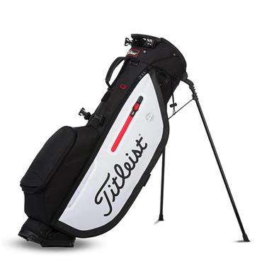 Titleist Players 4 Stand Bag  Black/White/Red