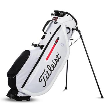 Titleist Players 4 Stand Bag  White/Red