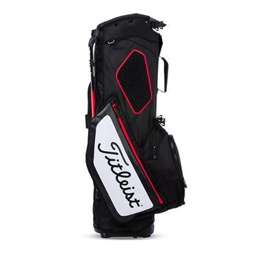 Titleist Hybrid 5 Stand Bag  Black/White/Red