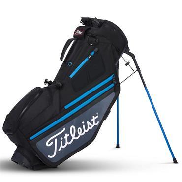 Titleist Hybrid 5 Stand Bag  Black/Charcoal/Blue