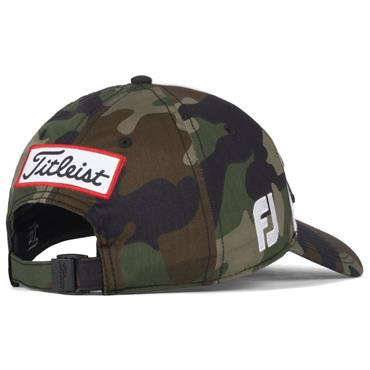 Titleist Tour Cotton Curve Cap  Camouflage