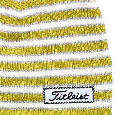Titleist Striped Beanie  Lime White