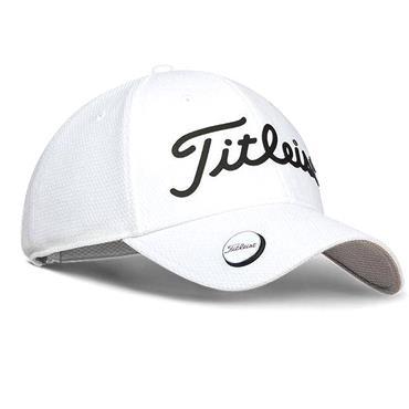 Titleist Perf Ball Marker Cap  White Black