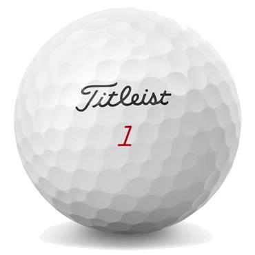 Titleist Left Dash Pro V1X Golf Balls  White