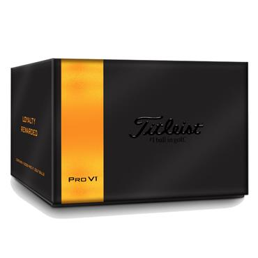Titleist Loyalty Reward Gift Box Pro V1 Box White