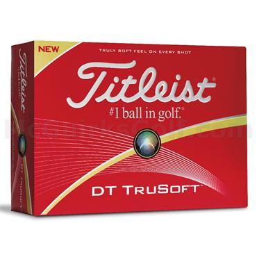 Titleist DT Trusoft Golf Balls Dozen  White