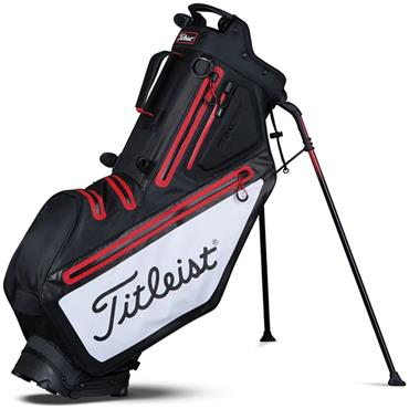 Titleist TB7SX7 Players 5 StaDry Stand Bag  Black/White/Red