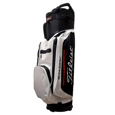 Titleist StaDry Lite Cart Bag TB8CT3E  White/Black/Red