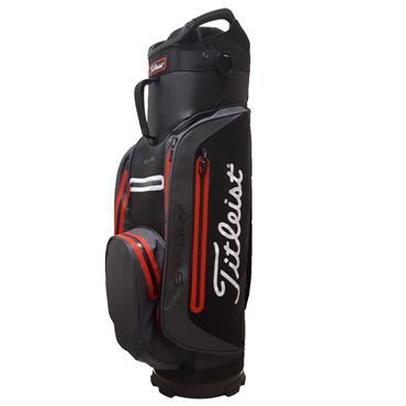 db7a63ccab Titleist StaDry Lite Cart Bag TB8CT3E Black Silt Red ...