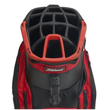 Titleist Lightweight Club 14 Bag TB8CT4E  Black/White/Red