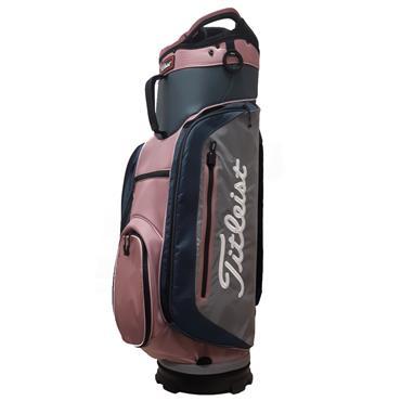 c78fde22fa Titleist Lightweight Club 14 Bag TB8CT4E Charcoal Silt Pink ...