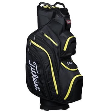Titleist DeLuxe Cart Bag Black - Lime