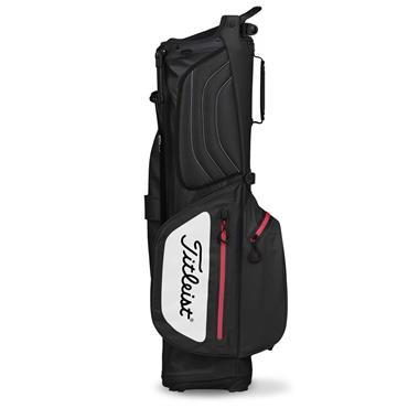 Titleist Players 4Up StaDry Stand Bag TB8SX2  Black/White/Red
