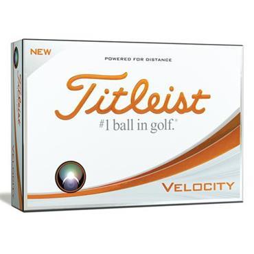 Titleist Velocity Golf Balls Dozen  White