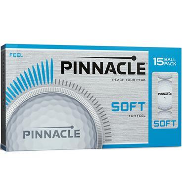 Pinnacle Soft 15 Ball Pack Golf Balls White
