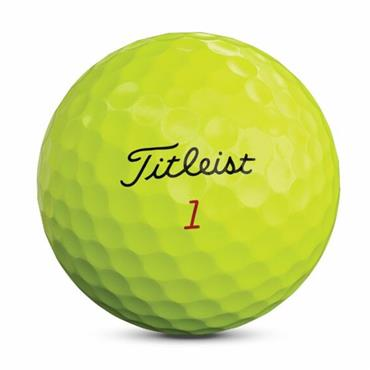 Titleist Pro V1X 2019 Golf Balls Dozen  Yellow