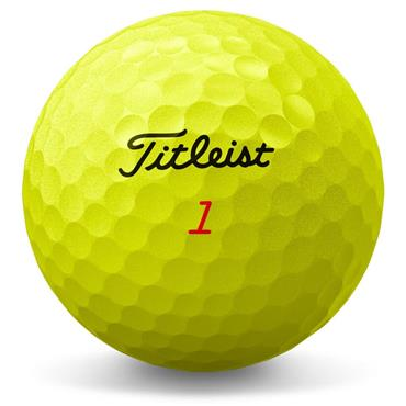 Titleist Trufeel Golf Balls Dozen  Yellow