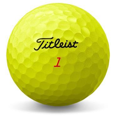 Titleist TruFeel Golf Balls Dozen  Yellow