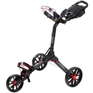 BagBoy Nitron Push Trolley  Black/Red
