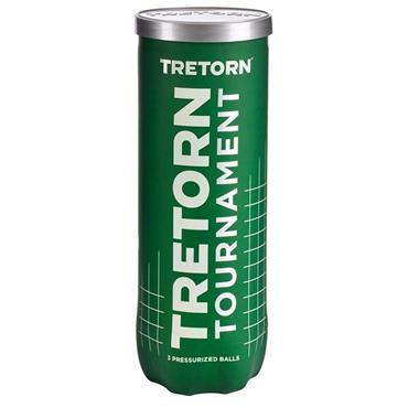 Tretorn Tournament 3-Pack Tennis Balls