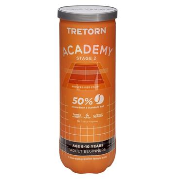 Tretorn - Tennis Tretorn Academy Orange Stage 2 Tennis Ba  Yellow