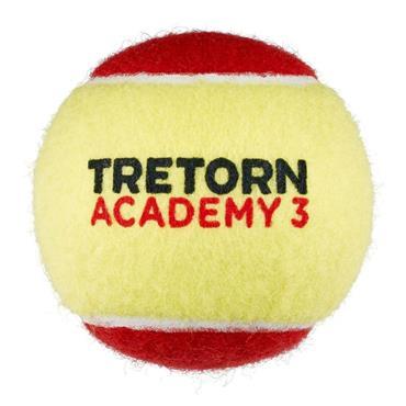 Tretorn Academy Felt Stage 3 Tennis Balls 3-Pack Red