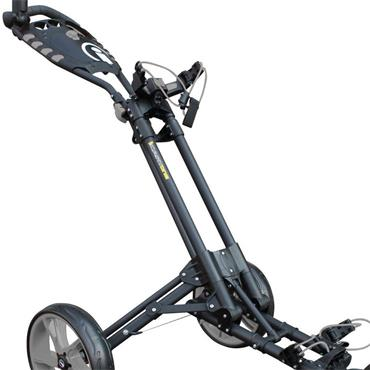 Masters Golf iCart One 3 Wheel Push Trolley  Black Slate