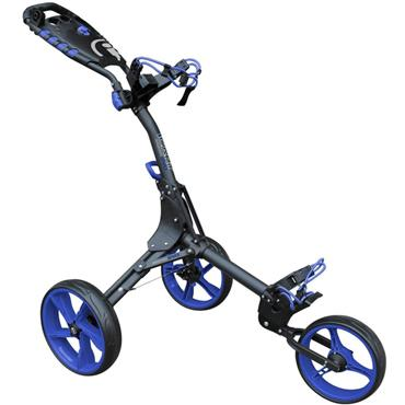 Masters Golf iCart Compact Evo Push Trolley  Grey - Blue