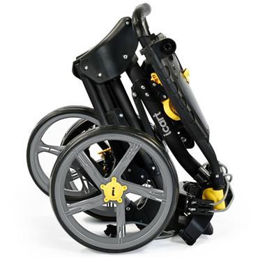Masters Golf iCart Compact Evo Push Trolley  Black-Grey
