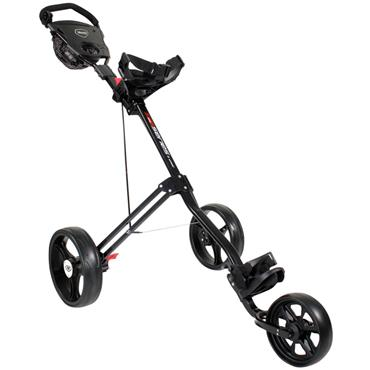 Masters Golf 5 Series 3 Wheel Push Trolley  BLACK