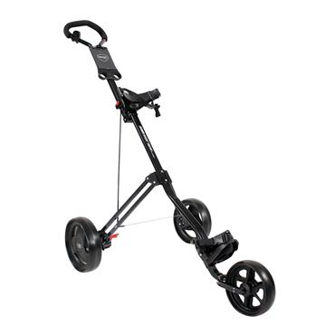 Masters Golf 3 Series 3 Wheel Push Trolley  Black