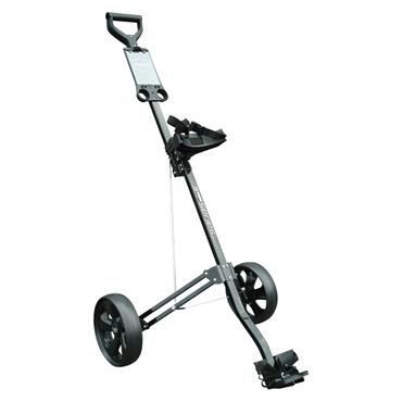Masters Golf 3 Series 2 Wheel Alum Cart  Black