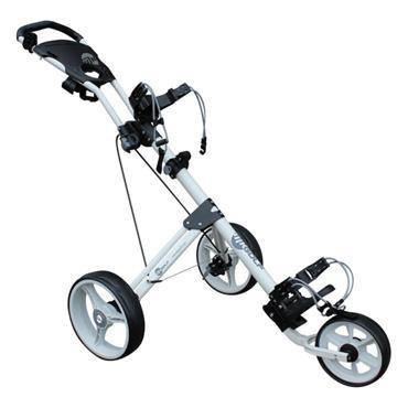 Masters Golf Kids 3 Wheel Push Trolley  Black
