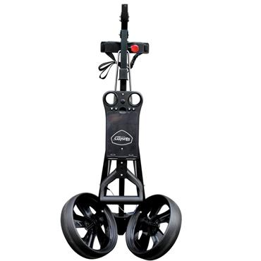 Masters Golf Junior 1 Series 2 Wheel Pull Trolley  BLACK